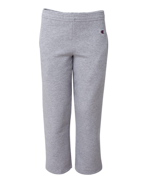 Eco Youth Open Bottom Sweatpants with Pockets