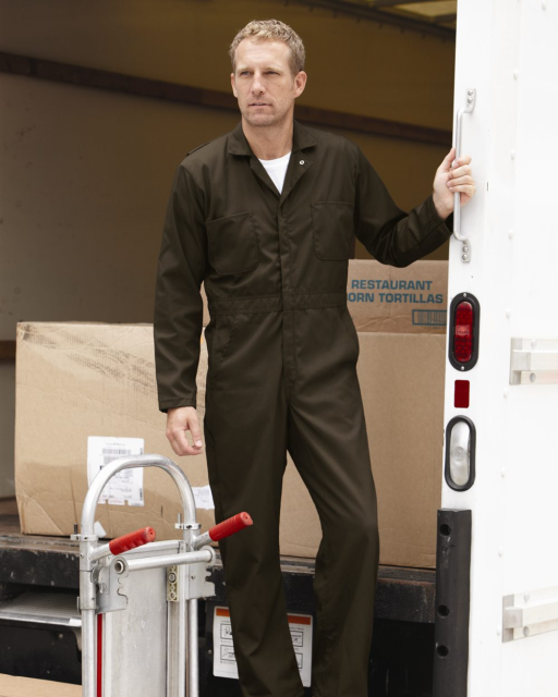 Twill Action Back Coverall