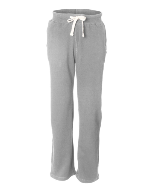 Cross Weave Open Bottom Sweatpants