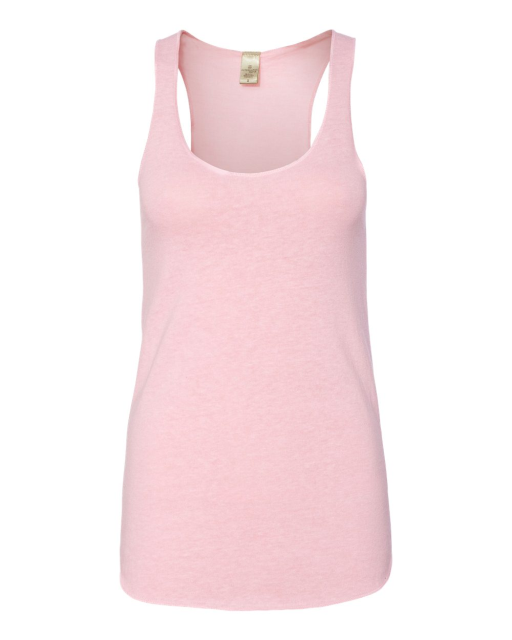 Ladies' Meegs Eco Jersey Racerback Tank
