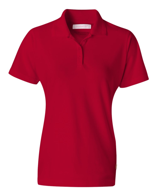 Ladies' Short Sleeve Platinum Pique Sport Shirt