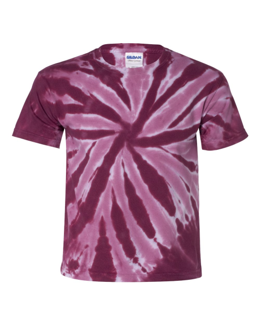 Youth Tone-on-Tone Pinwheel Short Sleeve T-Shirt