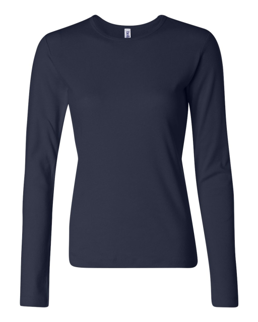 Ladies' Baby Rib Long Sleeve T-Shirt
