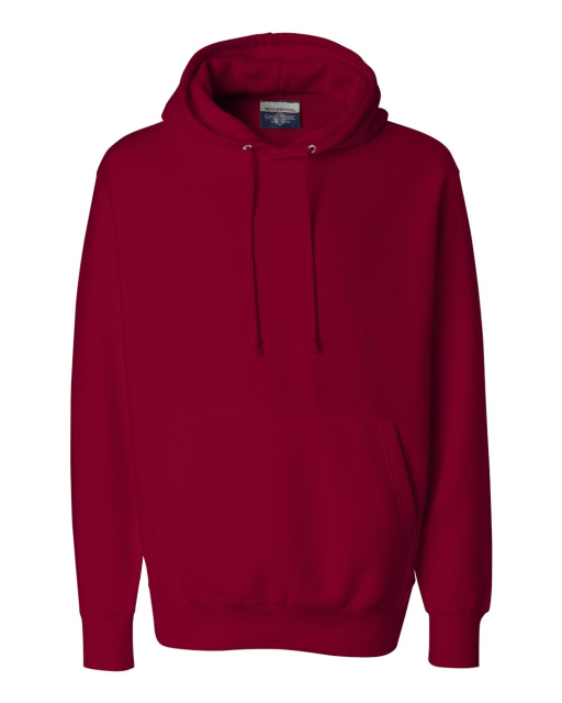 Cross Weave Hooded Sweatshirt