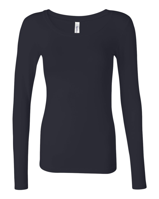 Ladies' Long Sleeve Modal Blend T-Shirt