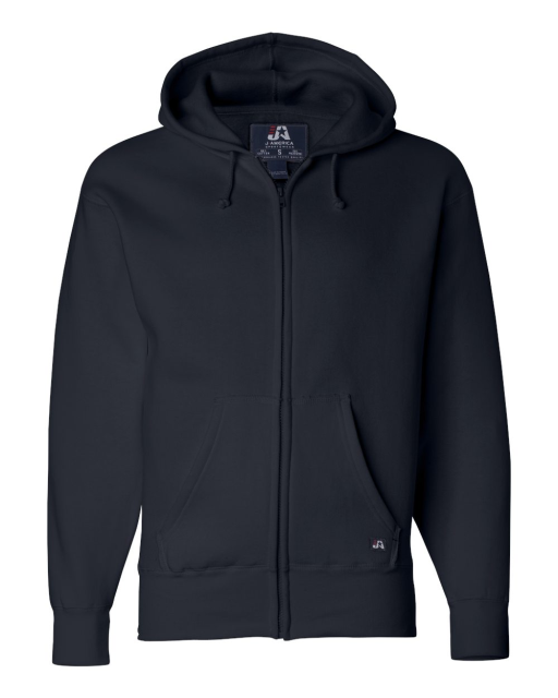Premium Full-Zip Hooded Sweatshirt