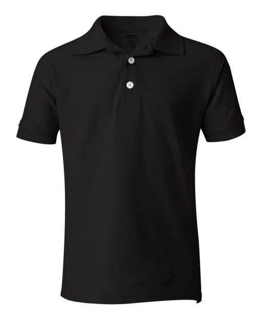 Youth Short Sleeve Pique Polo