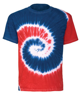 Tie Dye Reactive Dyed Heavyweight T-Shirt