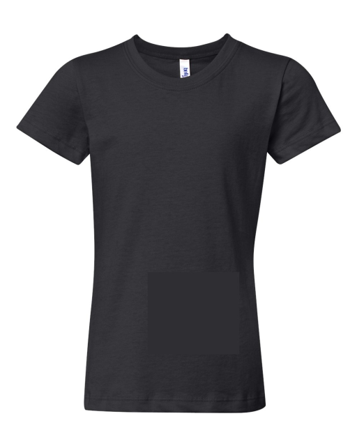 Girls' Short Sleeve Jersey T-Shirt