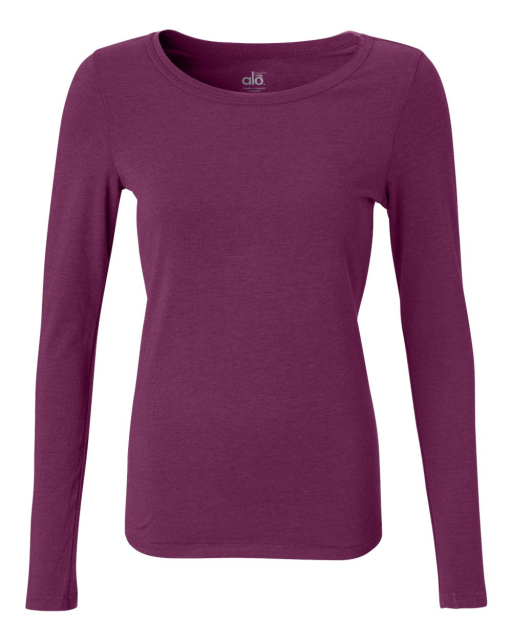 Ladies' Long Sleeve Bamboo T-Shirt