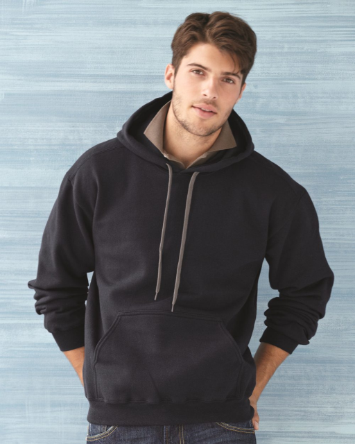 Premium Cotton Ringspun Fleece Hooded Sweatshirt