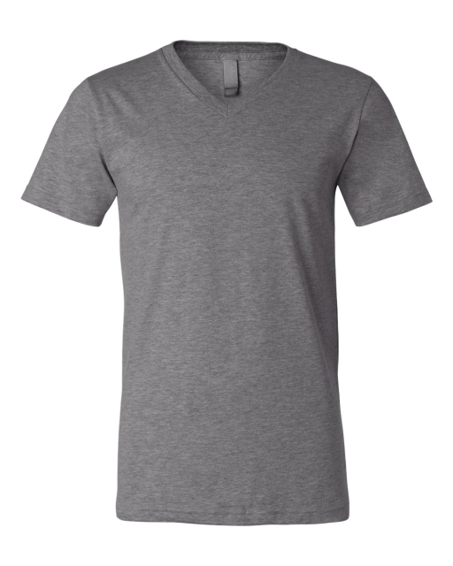 Unisex Short Sleeve V-Neck Jersey T-Shirt