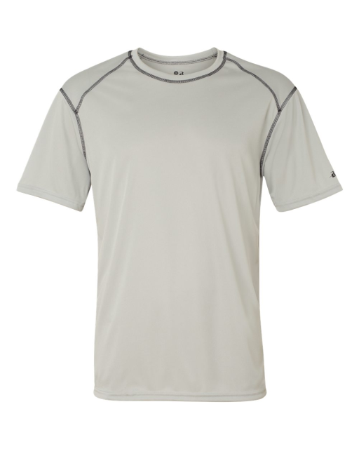 B-Core Short Sleeve T-Shirt with Contrast Stitching