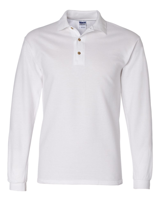 Ultra Cotton Long Sleeve Ringspun Pique Sport Shirt