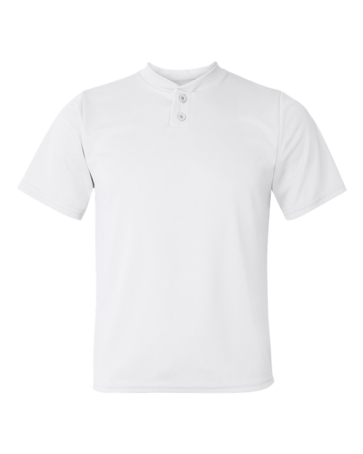 Youth Performance 2-Button Henley