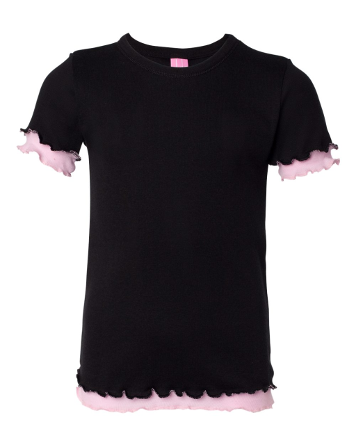 Girls' Double Ruffle T-Shirt
