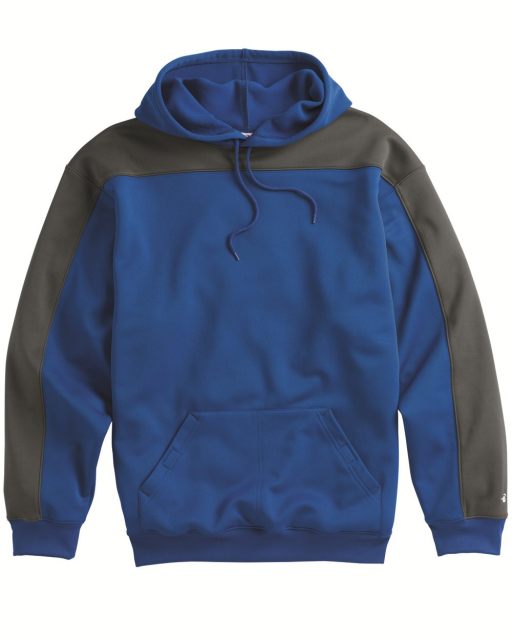Defender Polyester Fleece Hooded Pullover