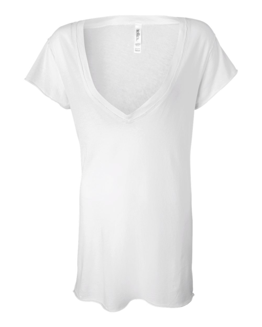 Ladies' Tissue V-Neck T-Shirt