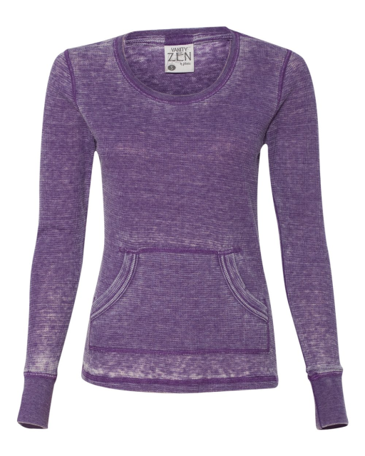 Ladies' Zen Thermal Long Sleeve T-Shirt