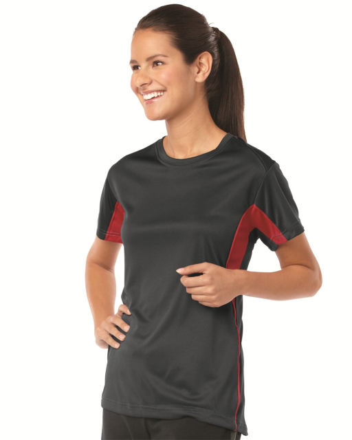 Ladies' B-Core Drive Short Sleeve Colorblocked T-Shirt
