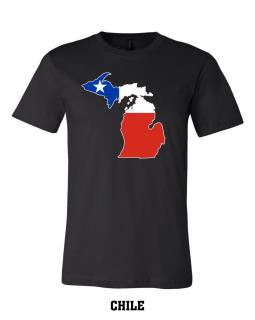 Chile - Unisex Short Sleeve Jersey T-Shirt