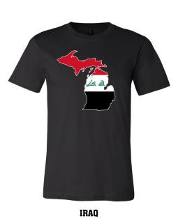 Iraq - Unisex Short Sleeve Jersey T-Shirt