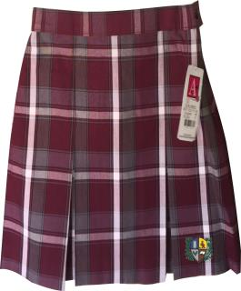 Uniform Plaid Skirt