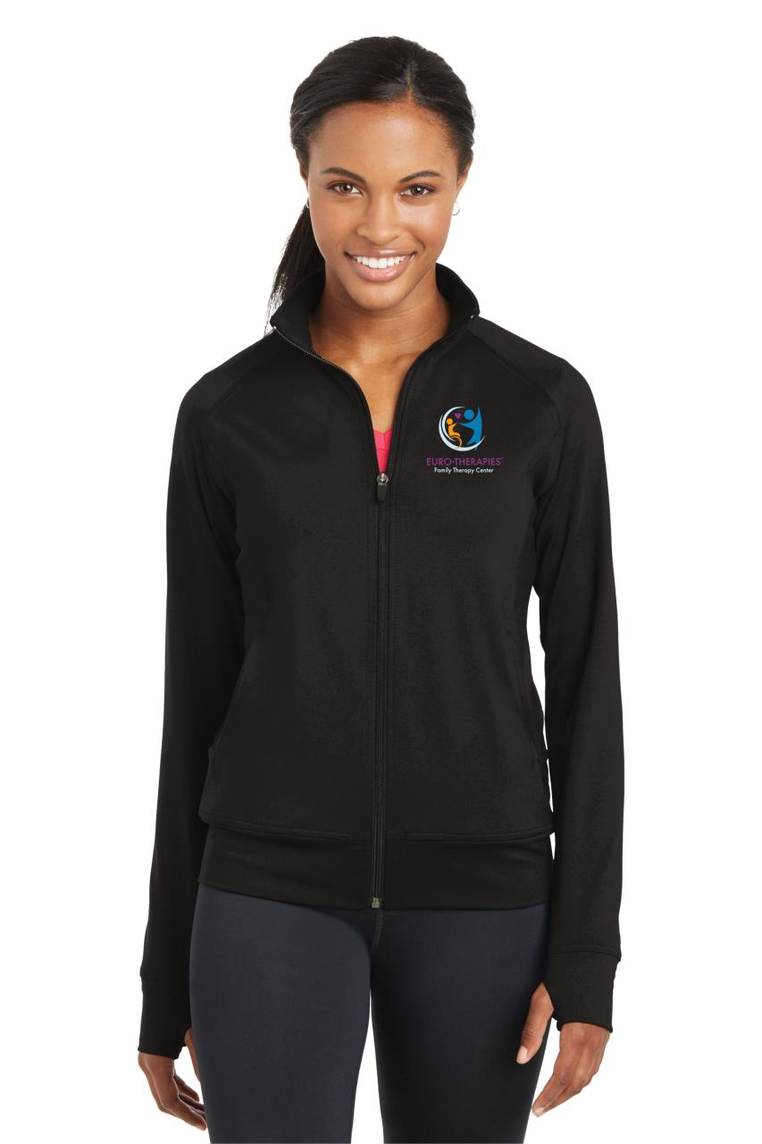 Ladies' Fitness Jacket w/ Thumbholes