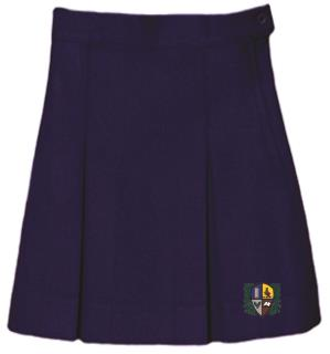 Uniform Solid Skirt