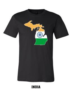 India - Unisex Short Sleeve Jersey T-Shirt
