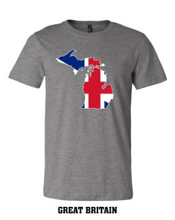 Great Britain - Unisex Short Sleeve Jersey T-Shirt