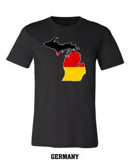 Germany - Unisex Short Sleeve Jersey T-Shirt