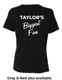 Biggest Fan - Women's Relaxed Jersey Tee