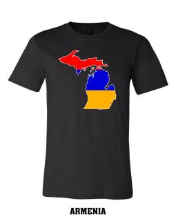 Armenia - Unisex Short Sleeve Jersey T-Shirt