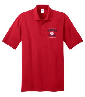 TALL - We Support Our Troops Polo