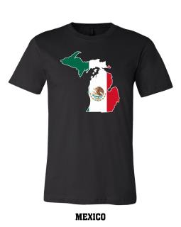 Mexico - Unisex Short Sleeve Jersey T-Shirt