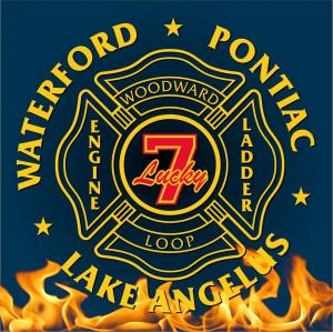 Waterford Fire Lucky Engine 7